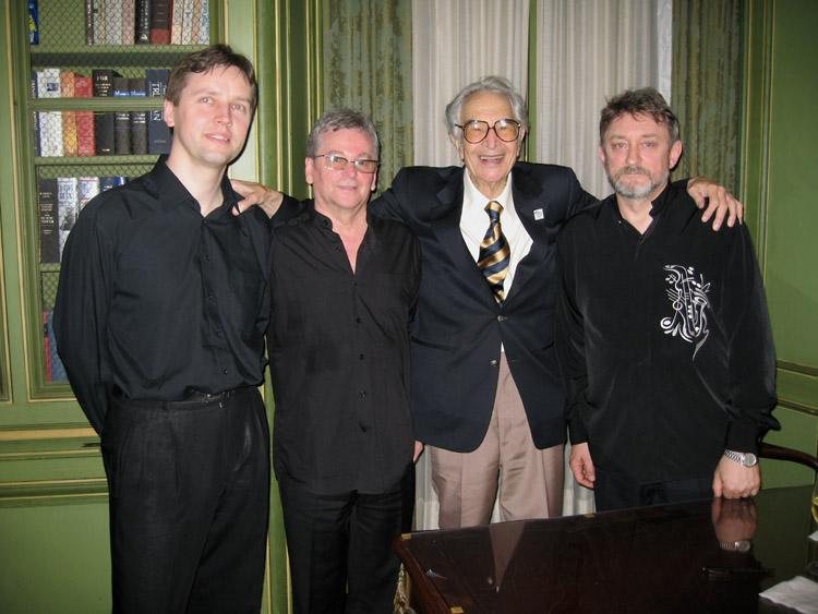 Andrzej Jagodziński Trio with Dave Brubeck - fotografia