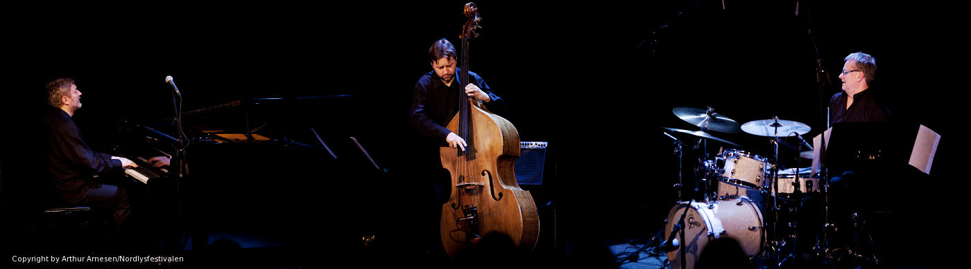 Andrzej Jagodziński Trio - fotografia, Arthur Arnesen, Nordlysfestivalen