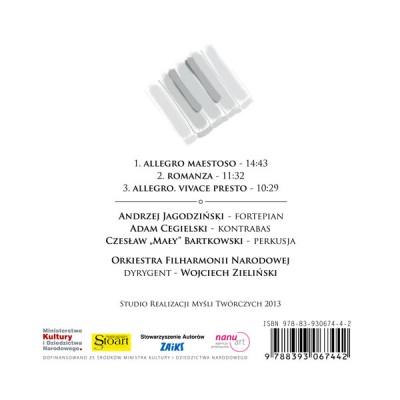 Concerto G minor - back cover