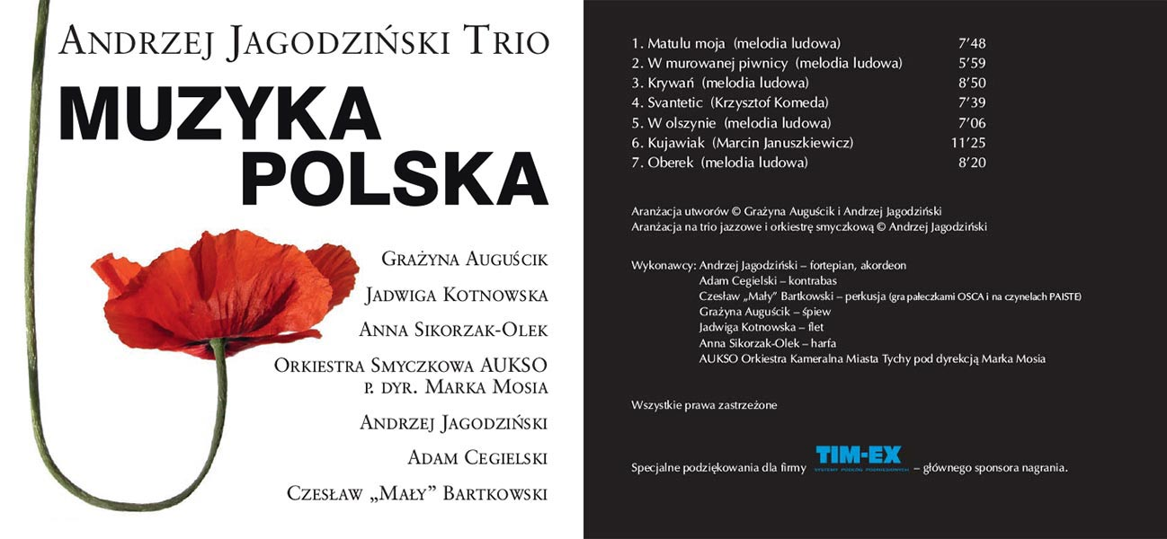 Płyta Muzyka Polska - książeczka