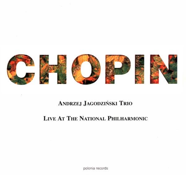 CD Chopi Live at the Phliharmonic - okładka